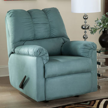 Austin Rocker Recliner in Sky