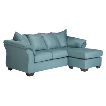 Austin Chaise Sofa in Sky