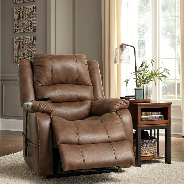 Picture of Anthony Power Lift Recliner in Saddle