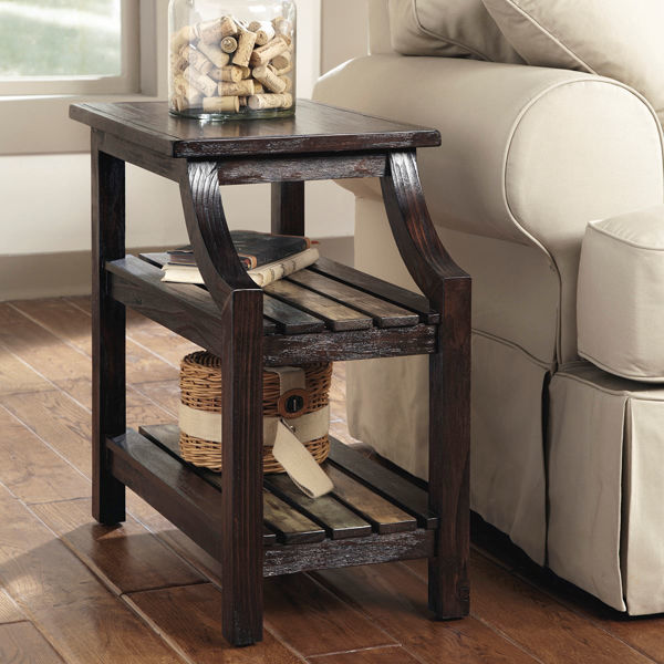 Cozumel Chairside End Table Lifestyle T580-7