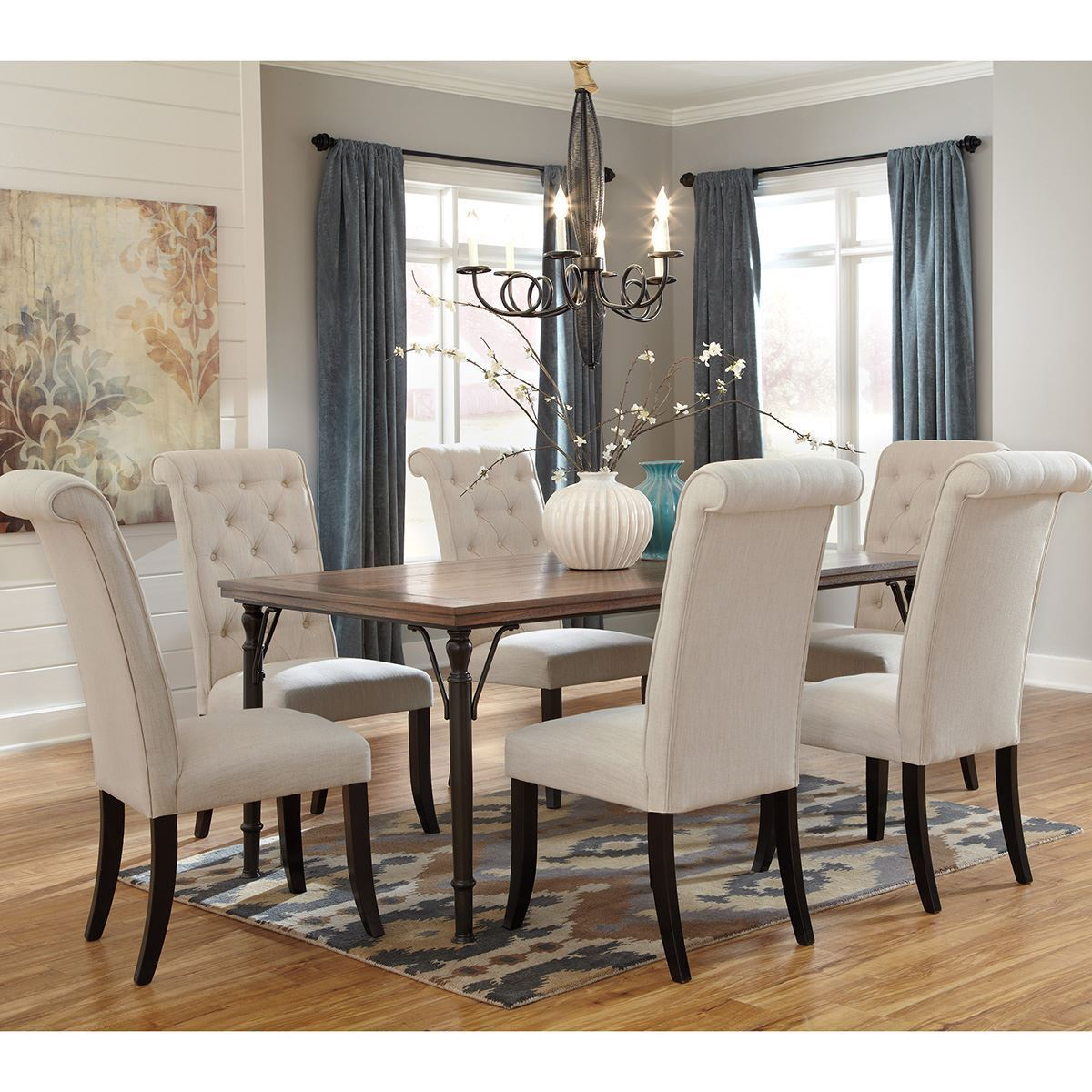 Emma Upholstered Dining Side Chair