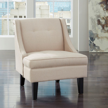 Picture of Clarinda Accent Chair in Cream