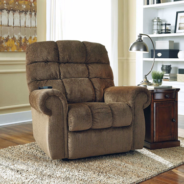 Picture of Robert Power Lift Recliner in Truffle