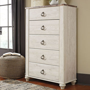 Picture of Wildflower 5 Drawer Chest