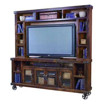 Picture of Ryder Console and Hutch Entertainment Set