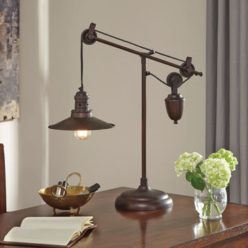 Picture of Kylen Bronze Finish Desk Lamp