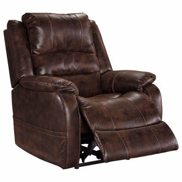 Picture of Barnett Recliner with Power Headrest In Walnut