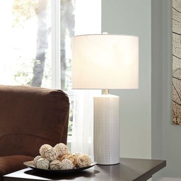 Picture of Ceramic Table Lamp Pair