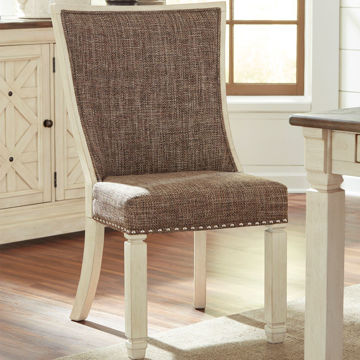 Picture of Antiquity Fully Upholstered Side Chair