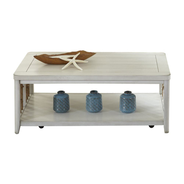 Picture of Reef White Cocktail Table