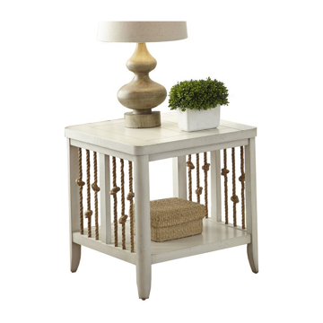 Picture of Reef White End Table