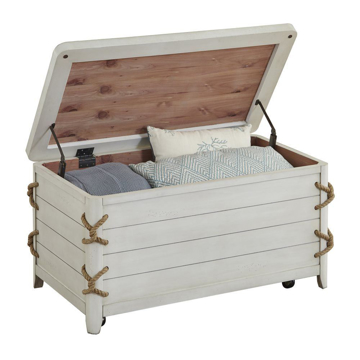 Picture of Reef White Storage Trunk