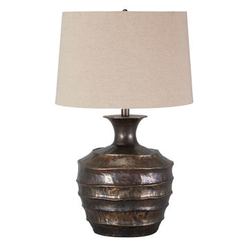 Picture of Kymani Antique Brass Table Lamp