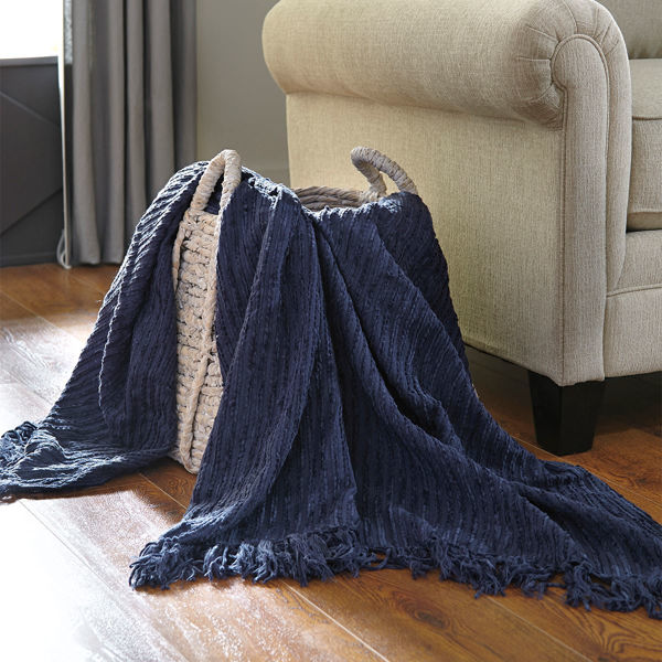 Picture of Noland Navy Throw