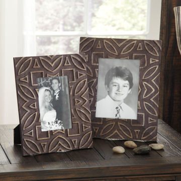 Picture of Marquise Set of 2 Black Frames
