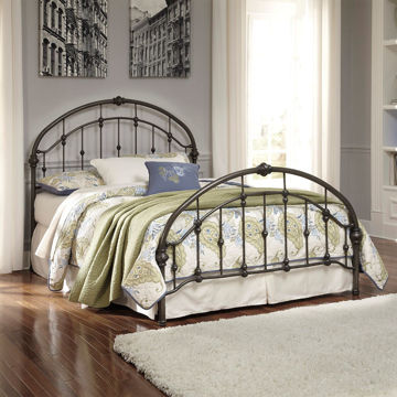 Picture of Pauline Queen Metal Bed