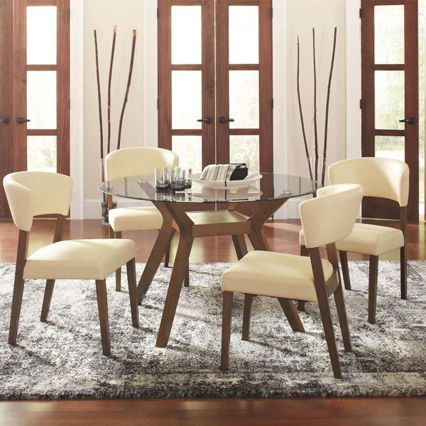 Normandy 5 Piece Dining Room Set 122180 Dining Set Lifestyle
