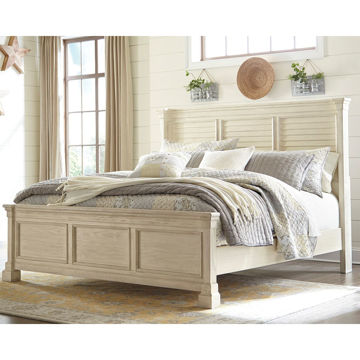 Picture of Antiquity Queen Louvered Bed