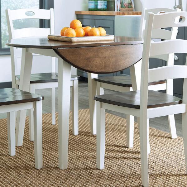 Picture of Kelly Round Drop Leaf Table
