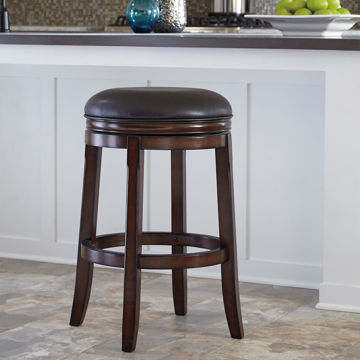 Picture of Jansen Backless Swivel Barstool