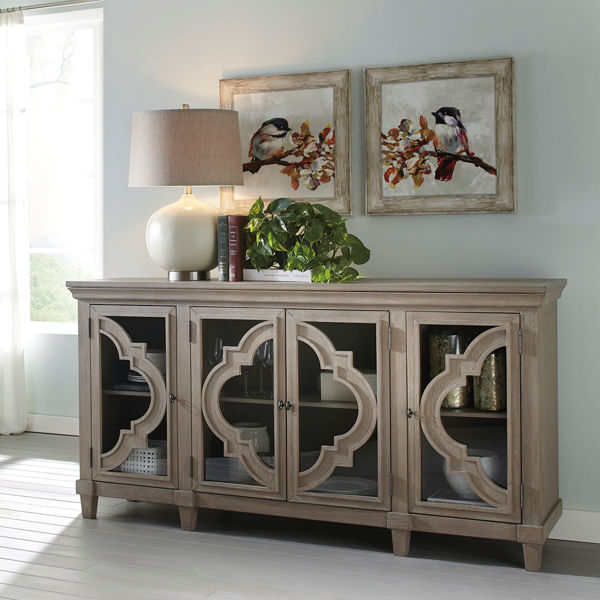 Picture of Antique Gray Console