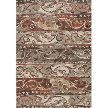 "Picture of Gala 1 Mocha 4'11""X7' Area Rug"