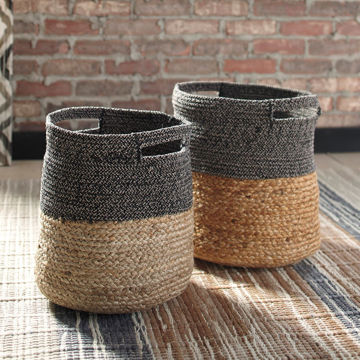 Picture of Parrish 2 Tone 2 Piece Basket Set