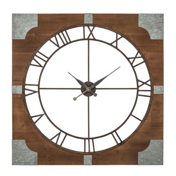 Picture of Palila Galvanized Wall Clock