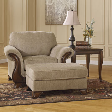 Picture of Thoroughbred Ottoman