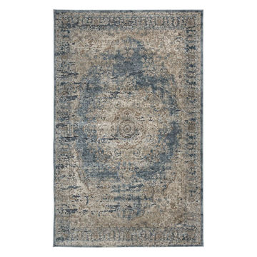Picture of South Blue and Tan 8X10 Rug