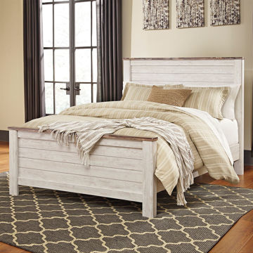 Picture of Wildflower King Panel Bed