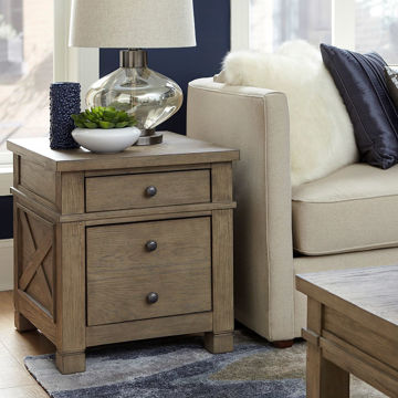 Picture of Triston End Table in Stone