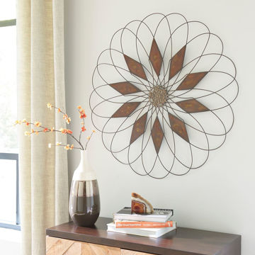 Picture of Dorielle Wire Flower Art