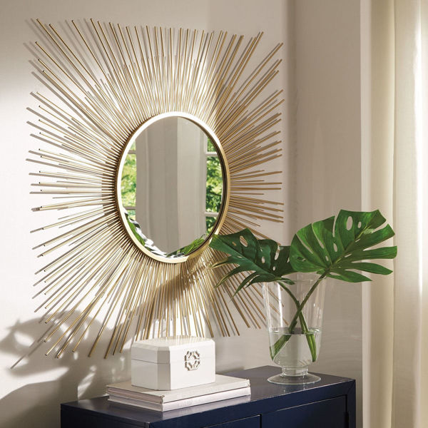 Picture of Elspeth Gold Burst Mirror