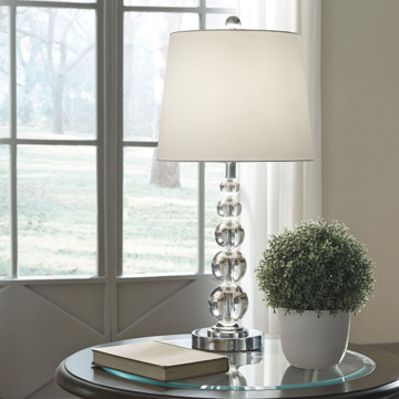 Picture of Joaquin Crystal Ball Lamp Set
