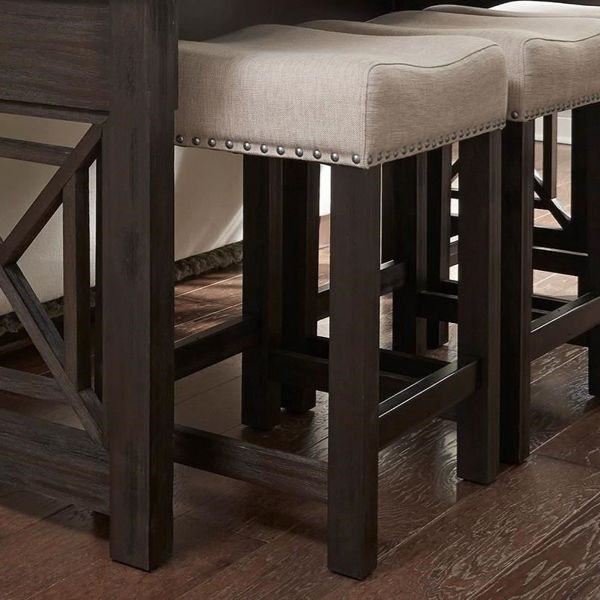 Picture of Riverbrook Upholstered Barstool