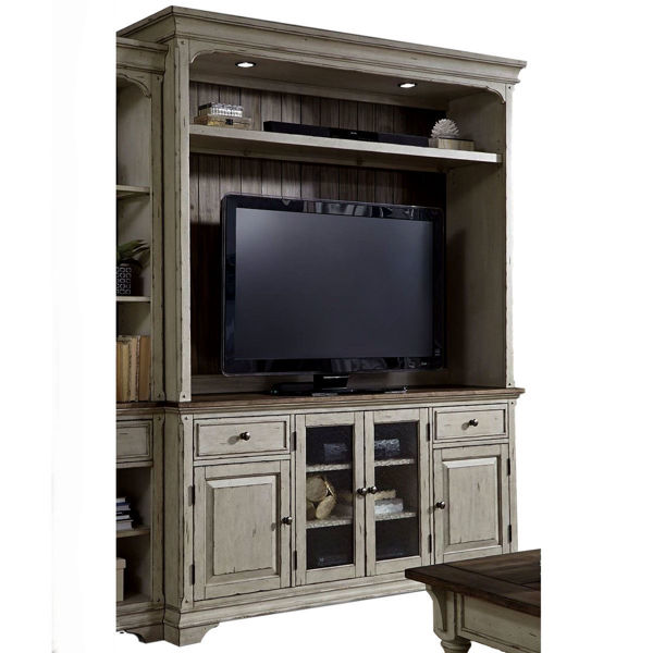 Picture of Nora Console and Hutch Entertainment Set