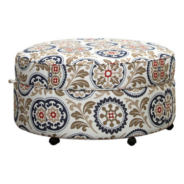Picture of Michael Round Storage Ottoman