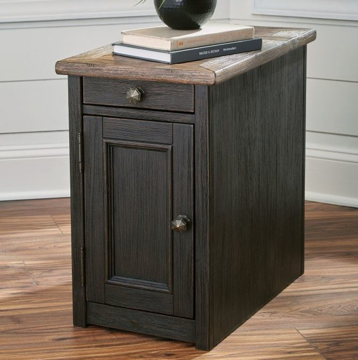 Picture of Antiquity Brown Chairside End Table