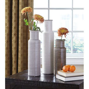 Picture of Deus Ceramic Set Of 3 Vases