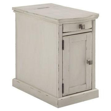 Picture of Davis Chairside End Table in Cottage White