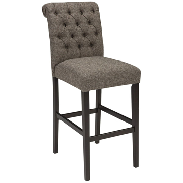 Picture of Emma Graphite Tall Upholstered Barstool