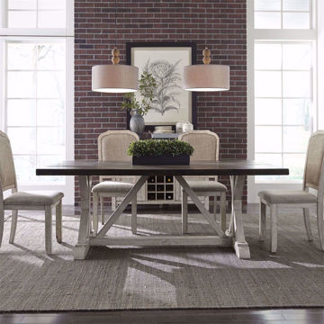 Picture of Windover 5 Piece Trestle Dining Room Set