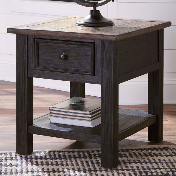 Picture of Antiquity Gray End Table