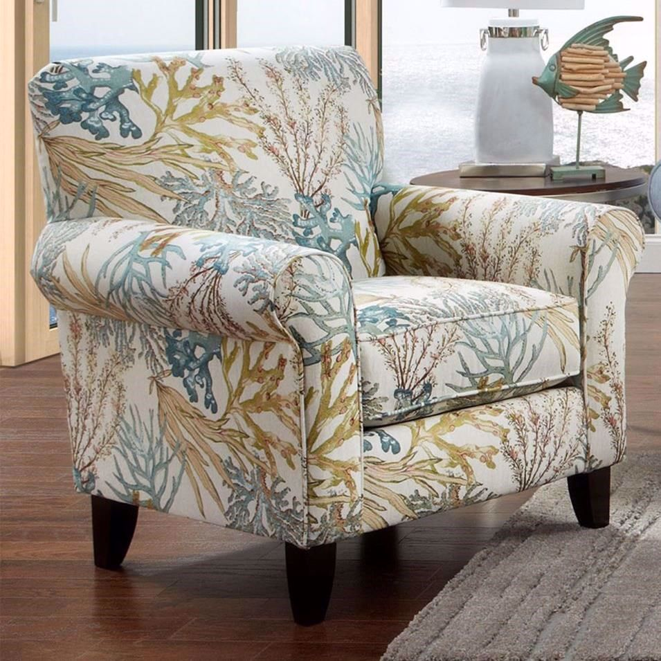 Melbourne Reef Caribbean Accent Chair