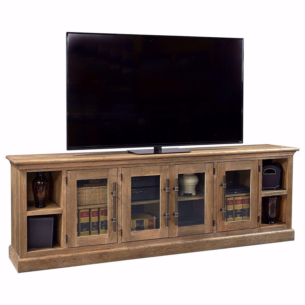 """Picture of Essex 97"""" Console In Oak"""