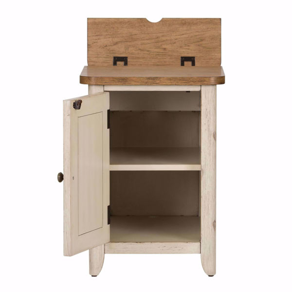 Picture of Roanoak Door Chairside Table