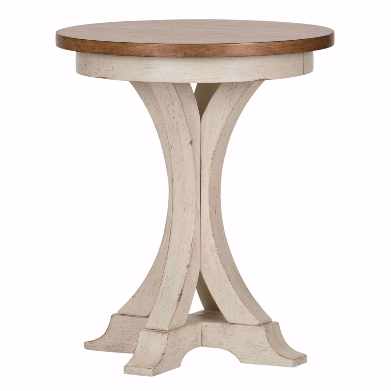 Roanoak Round Chairside Table