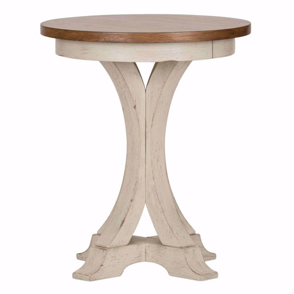 Picture of Roanoak Round Chairside Table