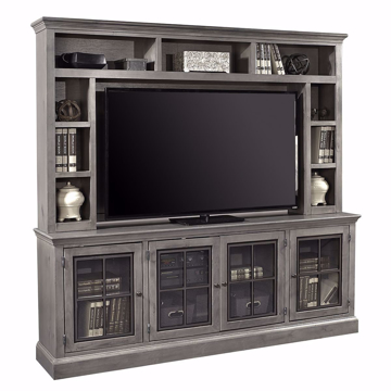 "Picture of Winston 2 Piece 84"" Entertainment Wall in Grey"